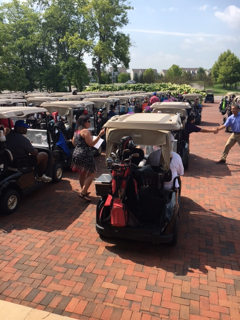 The NFL Golf Outing was held at Pinnacle Golf Club.